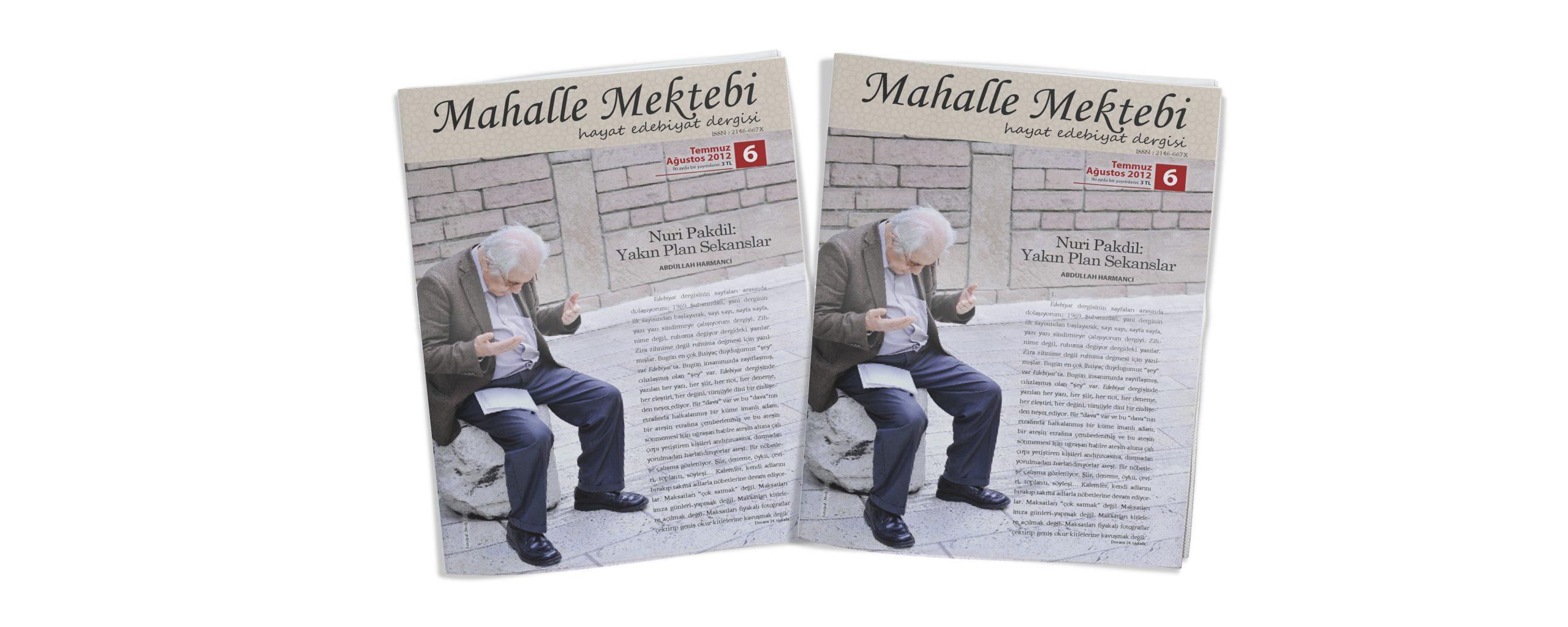 Mahalle Mektebi 6 (Temmuz-Ağustos 2012)