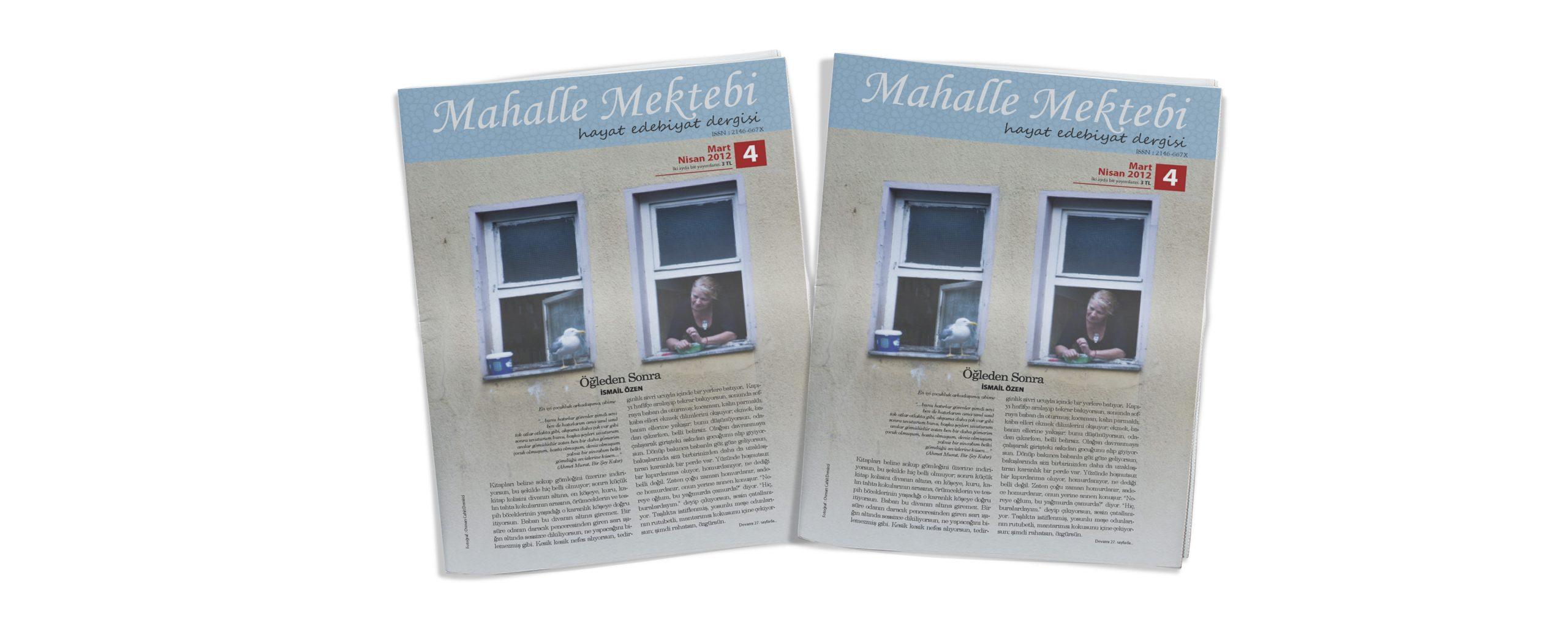 Mahalle Mektebi 4 (Mart-Nisan 2012)