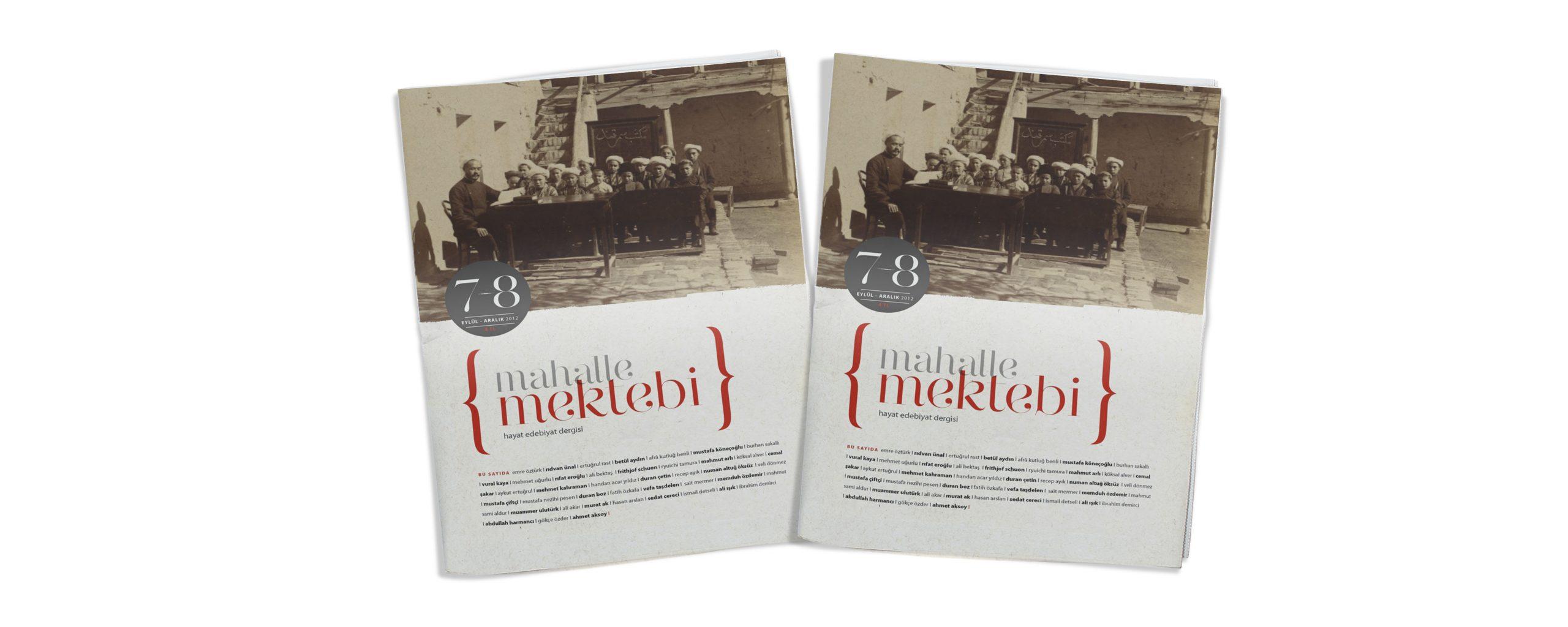 Mahalle Mektebi 8 (Eylül-Aralık 2012)